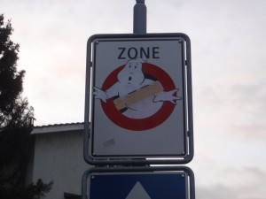 No entry, GHOSTS.