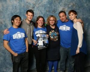 Dan and Ian meet the Doctor!