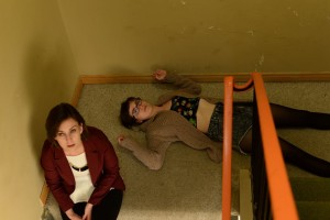 Clearly, the staircase scene was tiring enough to shoot on its own.