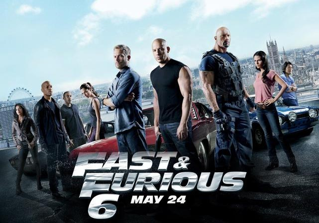 Name a second American action franchise THIS successful with only one white guy on the poster.